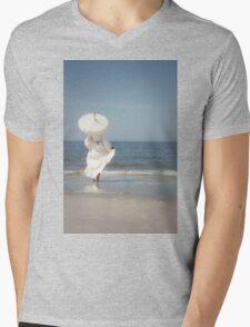 Summertime Mens V-Neck T-Shirt