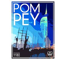 Pompey Photographic Print