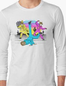 Break Dances with Wolves Long Sleeve T-Shirt