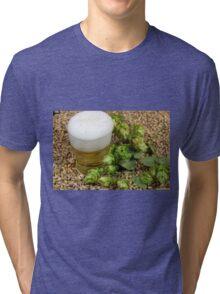 Beer, hops and malt Tri-blend T-Shirt