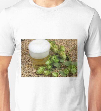 Beer, hops and malt Unisex T-Shirt