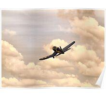 Vought F4U Corsair Poster