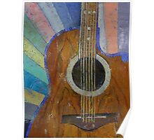 Guitar Sunshine Poster