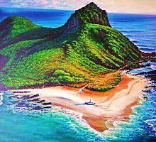 Mokulua Island - Lanikai by jyruff