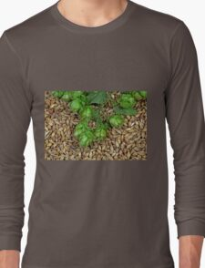 Hops and Malt Long Sleeve T-Shirt