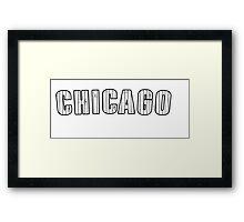 MLB City - Chicago (White Sox) Framed Print