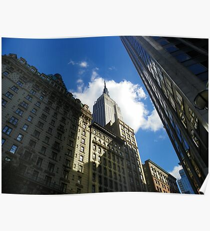 The Empire State building. Poster