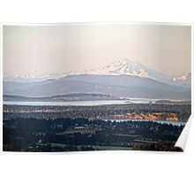 Mount Baker from The Malahat Poster