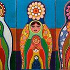 Babushka Triptych by Ariane