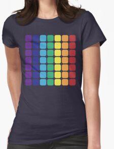 Vertical Rainbow Square - Dark Background T-Shirt