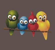 Cute overload - Birds Baby Tee