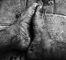 Feet & Brick by Pichard
