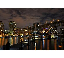 Vancouver at night - Vancouver, BC Photographic Print