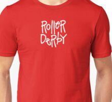 Roller Derby Pattern Unisex T-Shirt