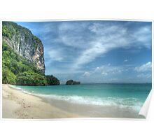 Turquoise Seas Poster
