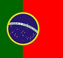 Brazil - Portugal by Phneepers