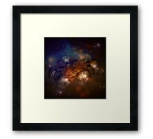 Incendia Space Station Framed Print