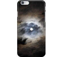 The Moon With A Corona iPhone Case/Skin