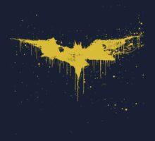 Batman Paint Splatter by wetwired