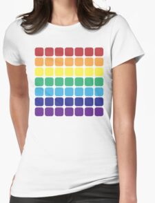 Rainbow Square - Light Background T-Shirt
