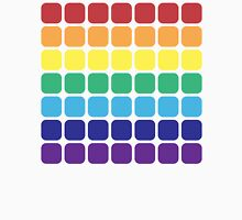 Rainbow Square - Light Background Unisex T-Shirt