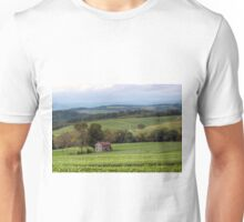 Harvest Time At The Forgotten Farmhouse Unisex T-Shirt
