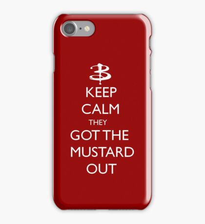 They got the mustard out iPhone Case/Skin
