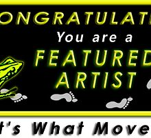 Featured in It's What Moves Me banner by Baina Masquelier