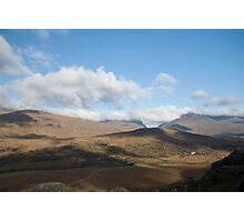 Kerry Mountains Killarney lakes in Ireland 2 Photographic Print