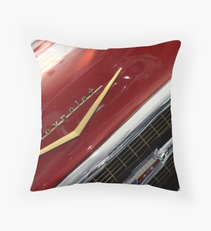 Classic Chev! Throw Pillow