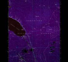 USGS Topo Map Oregon Odell Lake 280962 1963 24000 Inverted by wetdryvac