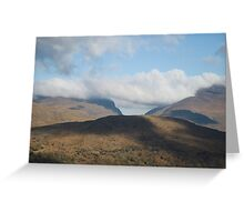 Kerry Mountains Killarney lakes in Ireland 3 Greeting Card