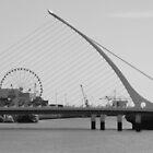 Harp Bridge Dublin by Brendan Brennan