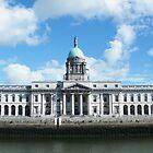 Customs House Dublin Colour by Brendan Brennan
