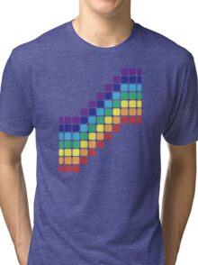 Rainbow Staircase Tri-blend T-Shirt