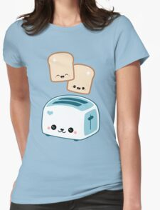 Happy Flying Toast Twins T-Shirt