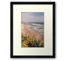 Maunganui Bluff - northland NZ Framed Print
