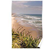 Maunganui Bluff - northland NZ Poster