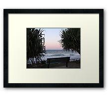 ~ PARADISE ~ Lennox Head, NSW  Framed Print