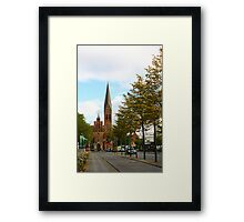 The Old Church Framed Print