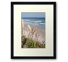 Maunganui Bluff Framed Print