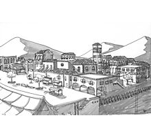Town Photographic Print