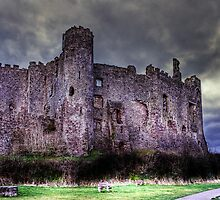 Laugharne Castle by David Jacks