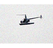 070511 117 1 pointillist freedom helicopter Photographic Print