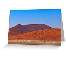 Life in the desert (II) Greeting Card