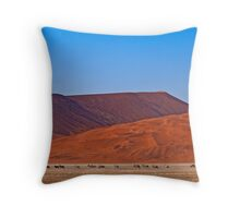 Life in the desert (II) Throw Pillow