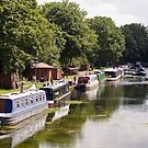 Canal Boats by Amy Collinson