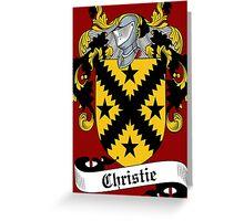 Christie Greeting Card