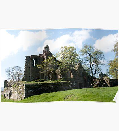Cartington Castle, Northumberland. Poster