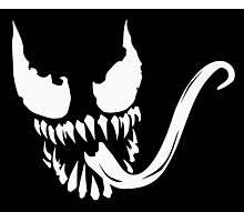 Venom face Photographic Print